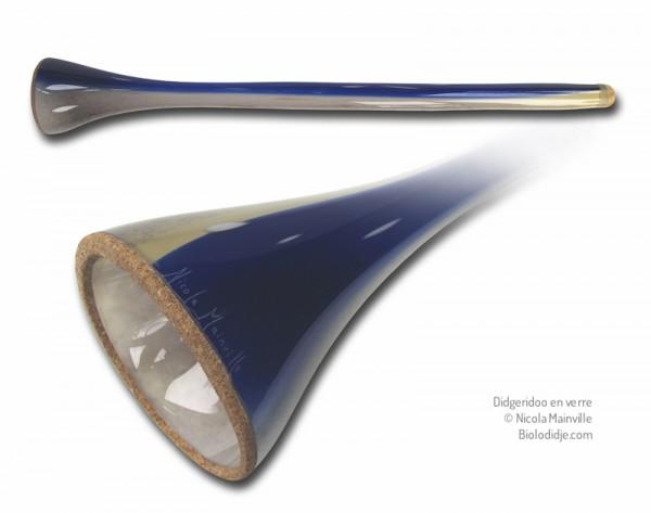 Didgeridoo en verre