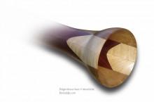 Didgeridoo à coulisse en bois Woodslide®